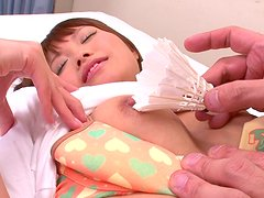 Horny tennis player SUZU MINAMOTO is eaten dry by her coach