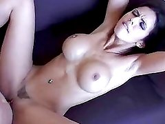 Pornstar Shy Love gets totaly boned deep in her twat until she gets creamed