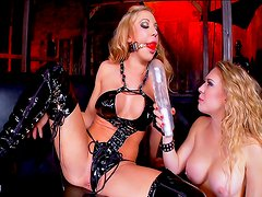 Horny sluts in dirty bdsm porn