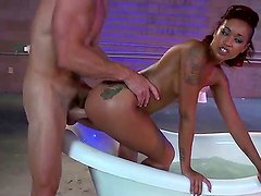 Johnny Sins gets his ultra long pecker ride