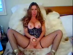 Naughty milf wants you to jerk off for her