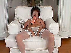 Katala the chubby mature babe gets pounded by younger guy