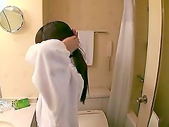 Adorable Japanese Teen Loves To Suck Dick In The Bathtub