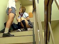 Banging a Hot School Girl from Japan and Leaving a Nice Facial On Her