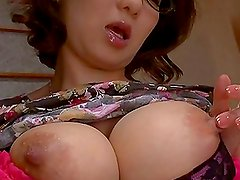 Big Breasted Japanese Beauty Mio Takahashi Masturbates with Toys