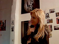 Artistic POV Fuck in Antwerp for Randy Blonde Honey Summer