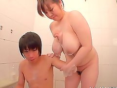 Lovely and Mature Aoi Aoyama is all for an oral sex