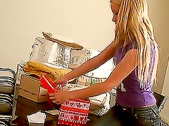 Sophie Moone Opening Presents from her dear fans