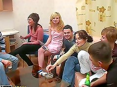 Hard Banging For Small Titted Student Babe at Party