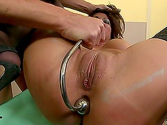A Naughty Teacher Learns Her Lesson From A Dominating Principal
