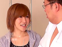 Horny Asian Slut Yuria Satomi Getting Her Pussy Fucked in Locker Room