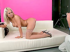 A Hard Cock For The Gorgeous Blonde Jacline
