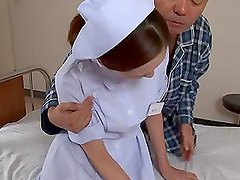 Yuri Kasiwa the nasty Japanese nurse having wild sex with a patient