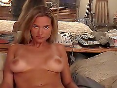 Sexy blond Nikki Talon gets banged by an old fart
