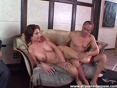 Old man blowjobs and erotic milf tease fun