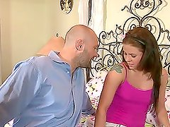 Sexy babysitter Taylor Russo gets seduced and hotly fucked