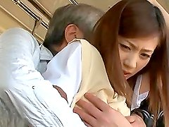 Kaori Maeda gets her nice pussy fingered in a public bus