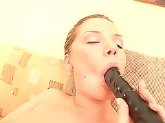 Mariya plays dirty games with two guys after masturbating her pussy