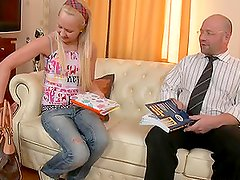 Missy gets laid with her teacher after private class