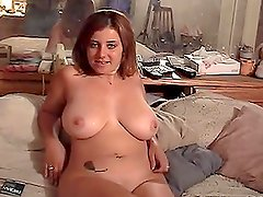 Chubby Shandra Serandon shows her big tits and gets fucked