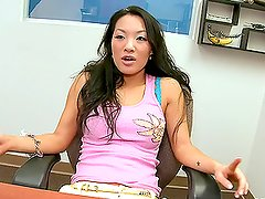 Asian invasion is full of blowjobs, pussy rubbing and hardcore fucking
