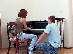 Kinky Piano Lessons With a Naughty Teen