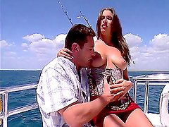 Hottest sea voyage composed of blowjobs, pussy eating and a hardocre
