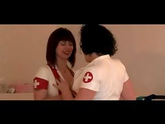 Latex Nurses CBT Their Male Submissive