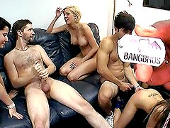 Naughty Babes Fance a Sex Party