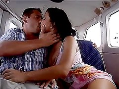 A trip full of blowjobs and horny fucks with a cute couple