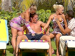 Hottest Outdoor Foursome With Jennifer Love and Kathy Campbel