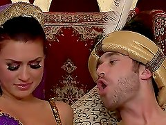 The Sultan's Slutty Skank Really Hot Anal With Eva Angelina
