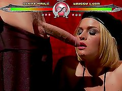 Krissy Lynn and Scott Nails Will Get Very Kinky and Fetishy