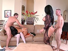 Three Huge Asses Get Gapped