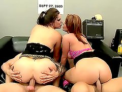 Horny Gropies Get Their Asses Banged in a Hot Fousome