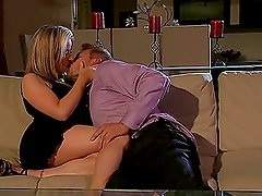 Blonde and Brunette Getting Fucked in Different Fuck Sessions