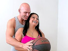 Big Tit Whore Sophia Lomeli Hot Fuck With Cum In Her Mouth