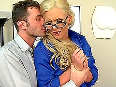 Blonde Busty Teacher Phoenix Marie Teaching How To Fuck