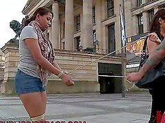 Ebony Slut Bondage Humiliation Public Fucking Action