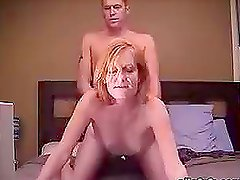 Horny Blonde MILF Gets Banged Doggystyle After 69 Action