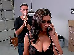 Deep Throat And Anal Action For The Hot Brunette Raylene