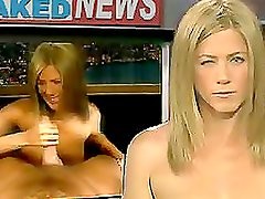 Jennifer Aniston and Cameron Diaz Stroking Cocks in Celebrity Porn Video