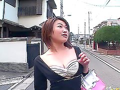 Asian Cowgirl Kokoro Miyauchi Rides A Really Hard Cock