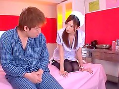 Sexy Japanese Nurse Abused By Her Patient