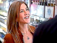 Alluring Jennifer Aniston getting naked and does a hot bed scene