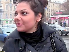 Horny Chick Gets a Pickup on the Street