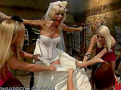 Dirty Bride Gets Tortured in The Dungeon