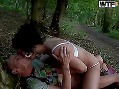 Kinky Couple Having Hot Outdoors Sex Until the Sun Falls Down
