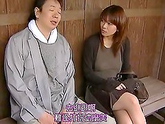 Japanese Model Fucks Outdoors In Summer with an Older Man