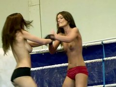 Sporty horn-mad fighter Sophie Lynx gonna kick the ass of spoiled chick